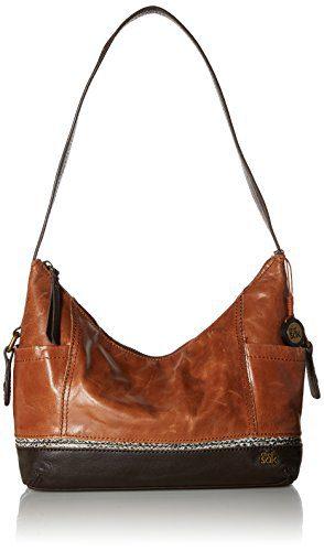 The Sak Kendra Hobo Shoulder Bag,Brown Snake Multi,One Size