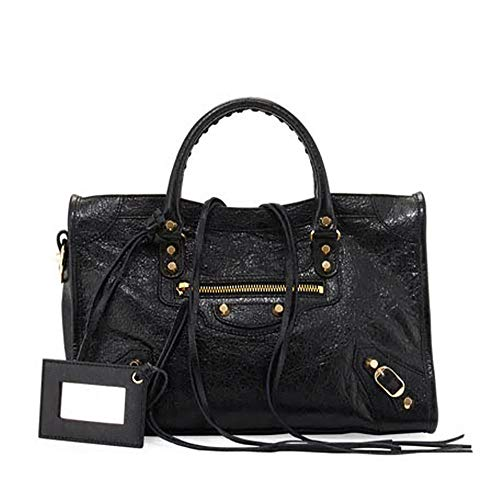 Balenciaga Giant 12 Gold City Bag, Black