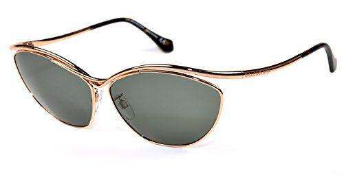 Balenciaga BA 13 sunglasses col. 32A Rose gold/Grey lenses