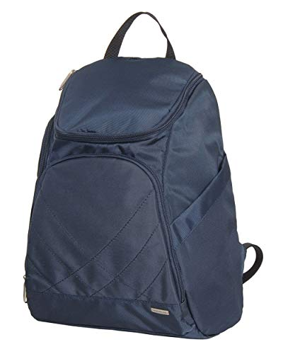 Travelon Anti Theft Classic Backpack (MIDNIGHT W/TEAL LINING)