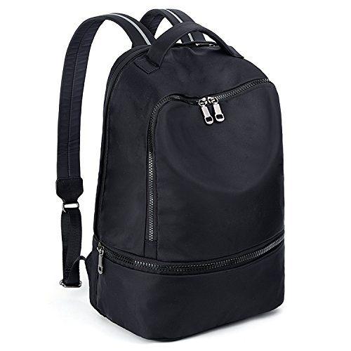 UTO Fashion Nylon Backpack Functional School Gym
