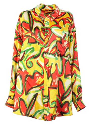 Balenciaga Women's Multicolor Silk Shirt