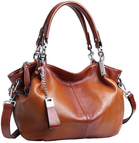 Heshe Womens Leather Handbags Ladies Designer Purse