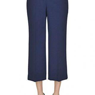 Balenciaga Women's Blue Wool Pants
