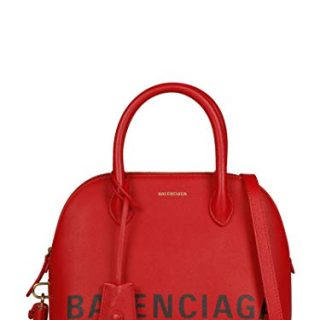 Balenciaga Women's Red Leather Handbag
