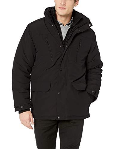 Ben Sherman Men's Vestee Outerwear Jacket, Classic Black, XL