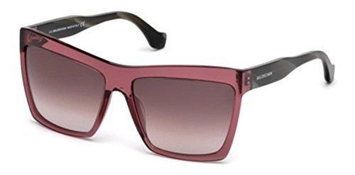 Sunglasses Balenciaga shiny bordeaux / gradient bordeaux