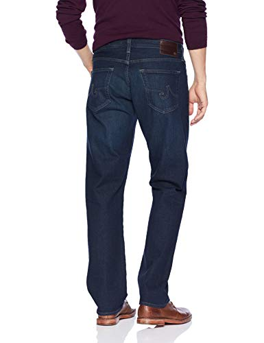 AG Adriano Goldschmied Men's The Ives Modern Athletic in 360 Denim, Burroughs, 40X34