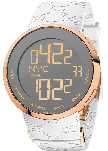 Gucci I-Gucci XL Latin Grammy Digital Mens Watch YA114223