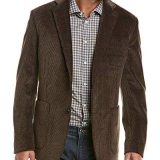 Billy Reid Mens Rustin Jacket, 38R, Brown