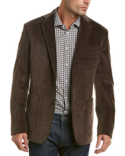 Billy Reid Mens Rustin Jacket, 38R, Brown