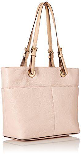 MICHAEL Michael Kors Bedford Large Top-Zip Pocket Tote, Soft Pink