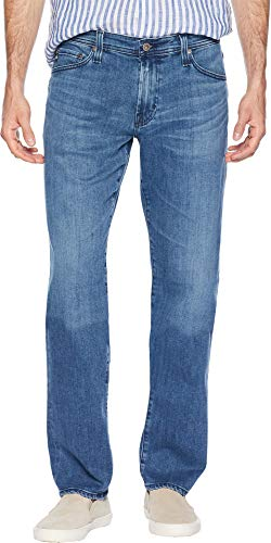 AG Adriano Goldschmied Men's Graduate Tailored Leg Denim Pants in Portage Portage 36 34