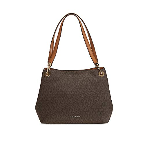 Michael Kors Womens Raven Tote, Brown (Brown)
