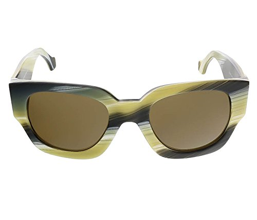 Sunglasses Balenciaga coloured horn / roviex