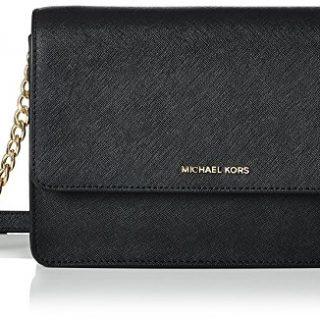 MICHAEL Michael Kors Women's Daniela Shoulder Bag, Black, One Size
