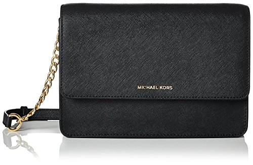 MICHAEL Michael Kors Women's Daniela Shoulder Bag, Black, One Size