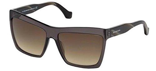 Sunglasses Balenciaga BA 0089 05G black/other / brown mirror