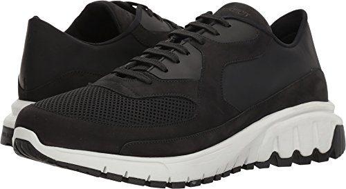 Neil Barrett Men's Urban Runner Sneaker Black/White