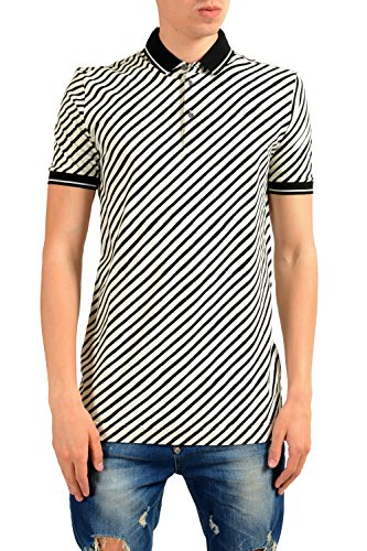 Dolce & Gabbana Men's Striped Short Sleeve Polo Shirt