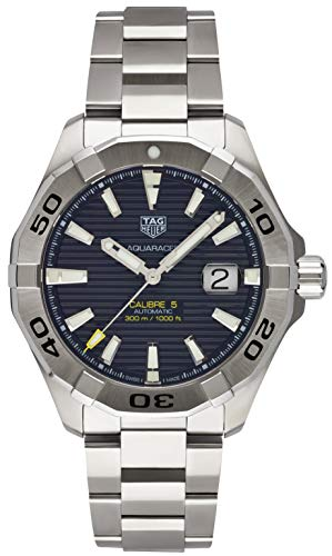 TAG Heuer Aquaracer Black Dial Calibre 5 Automatic Men's Watch