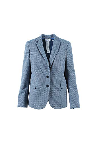 Akris Punto Women's Cotton Blend 2 Button Blazer