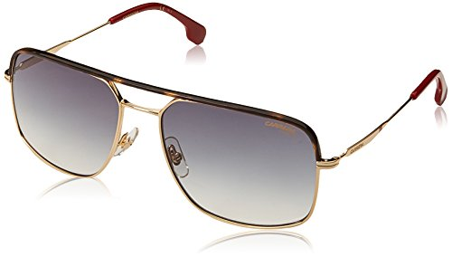 Carrera Men's 152/s Square Sunglasses, Gold, 60 mm