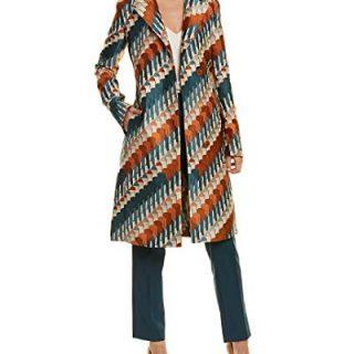 Akris Womens Silk-Trim Coat, 10, Beige