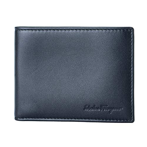 Salvatore Ferragamo 100% Leather Black Women's Wallet