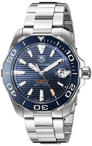 TAG Heuer Men's 'Aquaracer' Swiss Stainless Steel Automatic Watch
