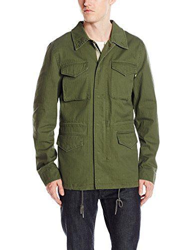 Alpha Industries Men's Revival Field Coat, Olive, XXX-Large
