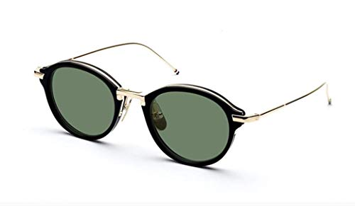 Sunglasses THOM BROWNE BlackShiny 12K Gold w/ G15
