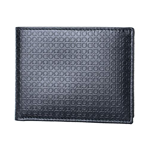 Salvatore Ferragamo 100% Leather Black Women's Bifold Wallet