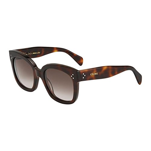 Celine Tortoise New Audrey Cats Eyes Sunglasses Lens Category 3 S