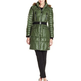 Marc New York by Andrew Marc Women's Addy Block Puffer