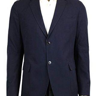 Gucci 2 Button Blue Saphire Cotton Jacket