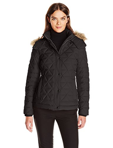 Marc New York by Andrew Marc Women's Tess Pyramud Quilted Coat