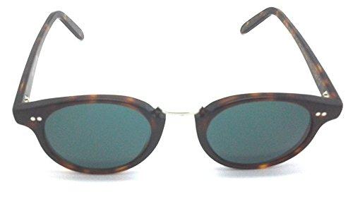 Cutler and Gross Tortoise Round Sunglasses