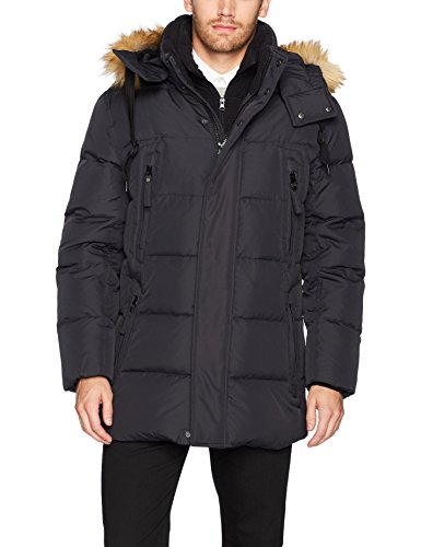 Marc New York by Andrew Marc Men's Conway Hooded Matte Shell Parka