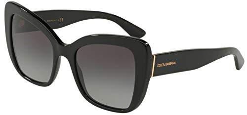 Dolce & Gabbana Women's Black/Grey Gradient One Size