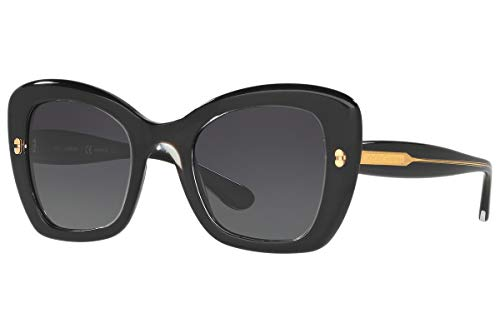 Sunglasses Dolce e Gabbana DG TOP CRYSTAL ON PEARL BLACK