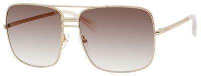 Céline Sunglasses - Frame: Gold Lens: Smoke Flash Silver