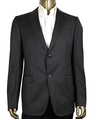 Gucci Men's Signoria Dark Brown Wool 2 Buttons Jacket