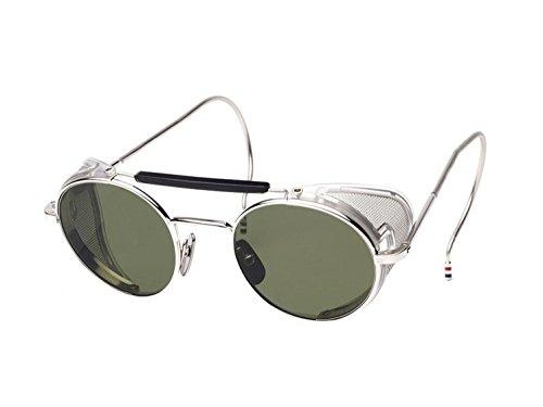 Sunglasses THOM BROWNE A-T Shiny Silver w/ G15