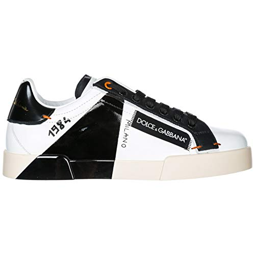 Dolce & Gabbana Men Portofino Sneakers Bianco