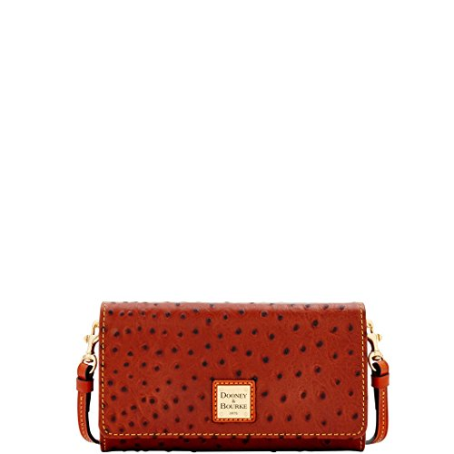 Dooney & Bourke Ostrich Clutch Wallet Wallet