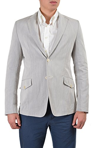 Versace Collection Men's Gray Two Button Sport Coat Blazer