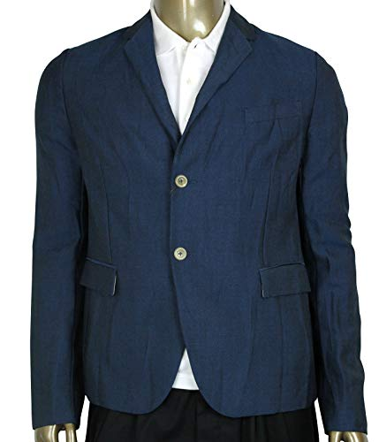 Gucci Formal Blue Saphire Wool/Mohair 2 Buttons Jacket