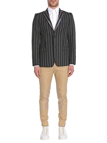 Alexander McQueen Men's Multicolor Wool Blazer