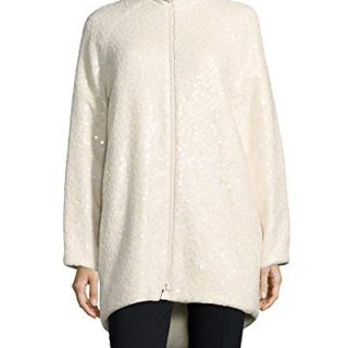 Akris Womens Agathon Jacket, 8 White